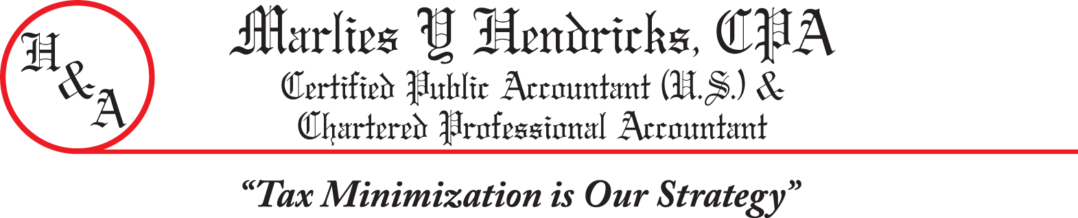 Hendricks & Associate, CPAs